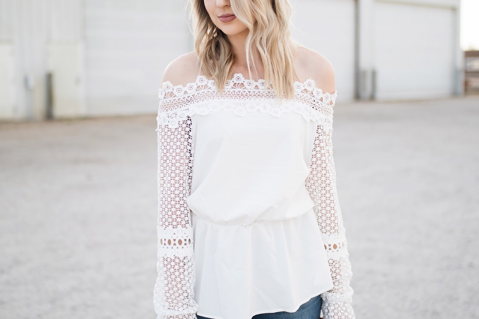 spring off-shoulder top