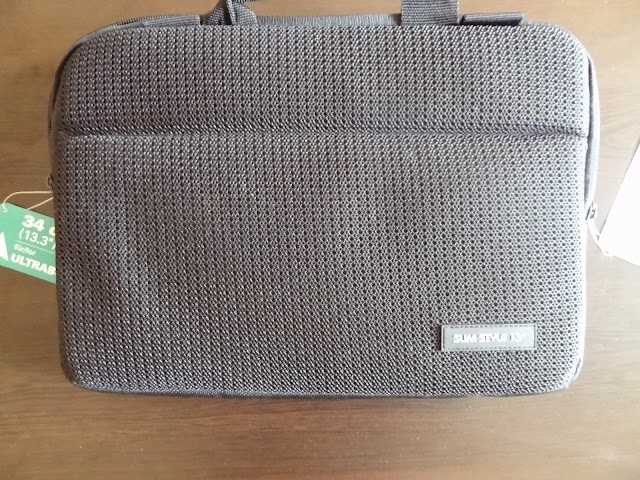 Hama Ultra Style ultrabook bag after two weeks of use