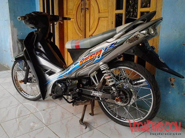 Modifikasi Vega R New Modif Standar Simple Minimalis