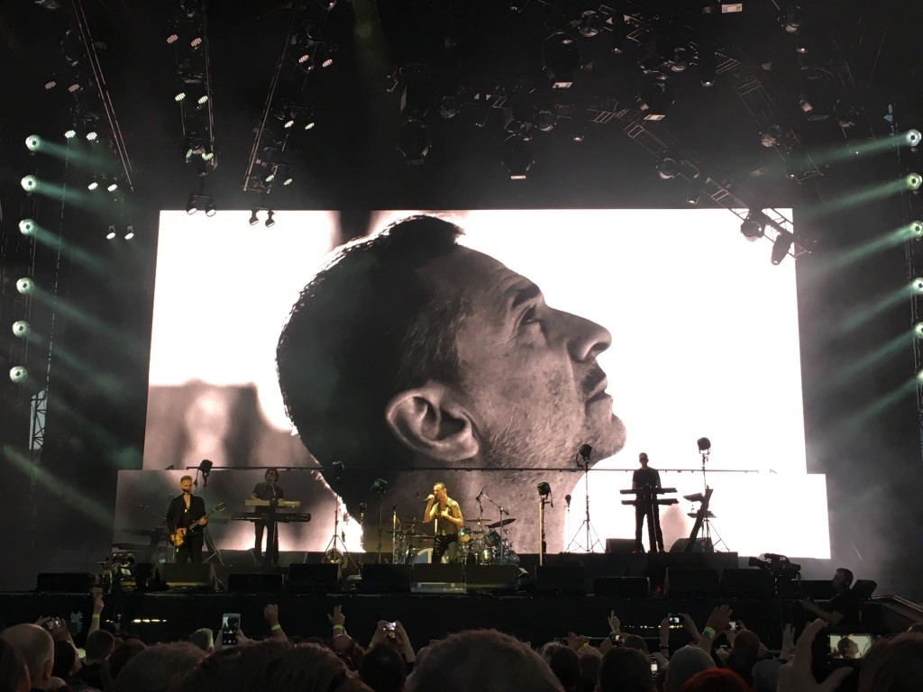 Almost Predictable Almost Live Review Depeche Mode Ostragehege Dresden 7 June 2017