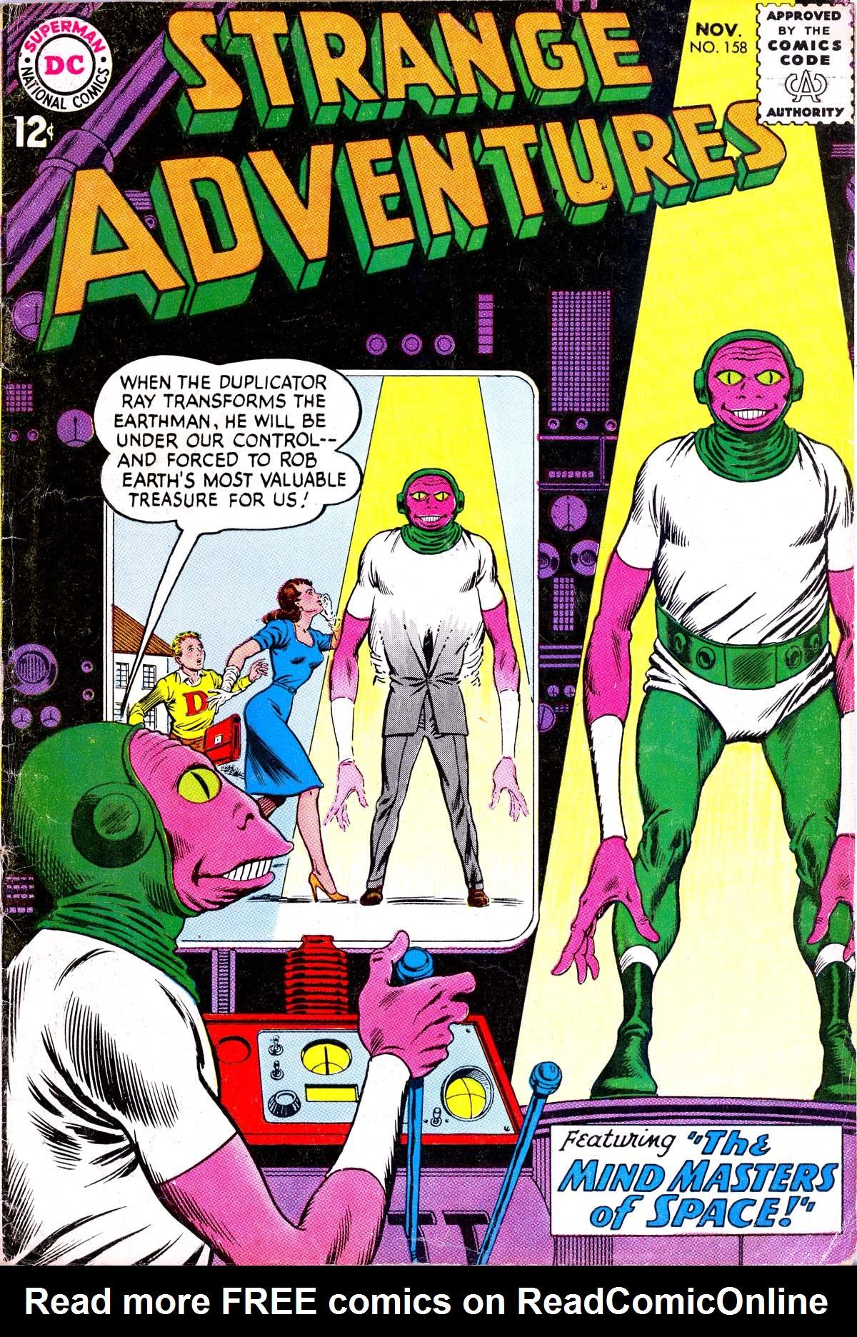 Strange Adventures (1950) issue 158 - Page 1