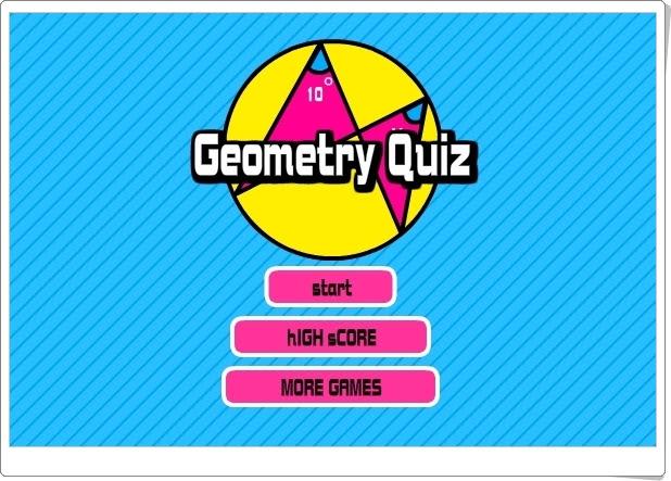 """JUEGOS DE FIN DE CURSO: """"Geometry Quiz"""" (Juego de Geometría de Secundaria)"""