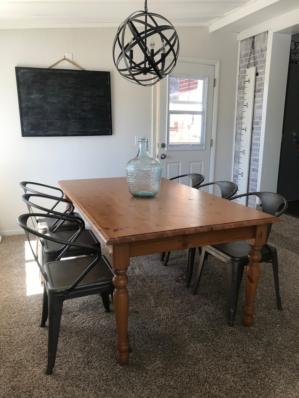 Wonderfully Made: Refinished Kitchen Table