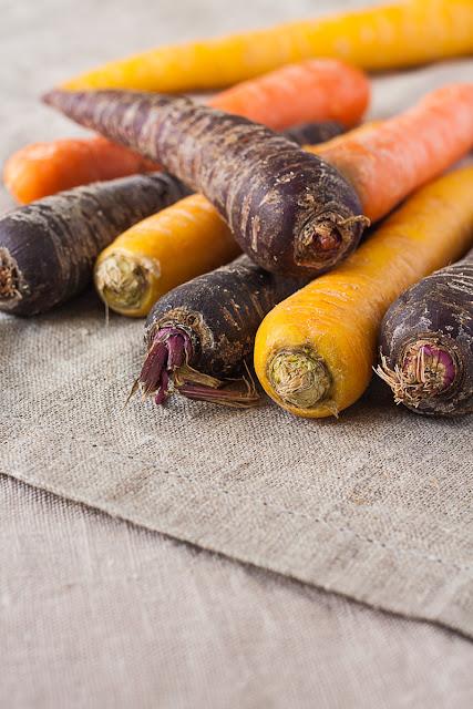 Raznobojne šargarepe