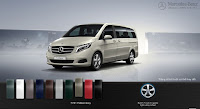 Mercedes V220 d Avantgarde 2015 màu Xám Pebble 701