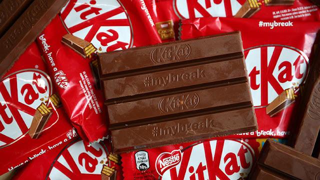 Tribunal europeo no permite a Nestlé registrar como marca la forma de sus chocolatinas Kit Kat
