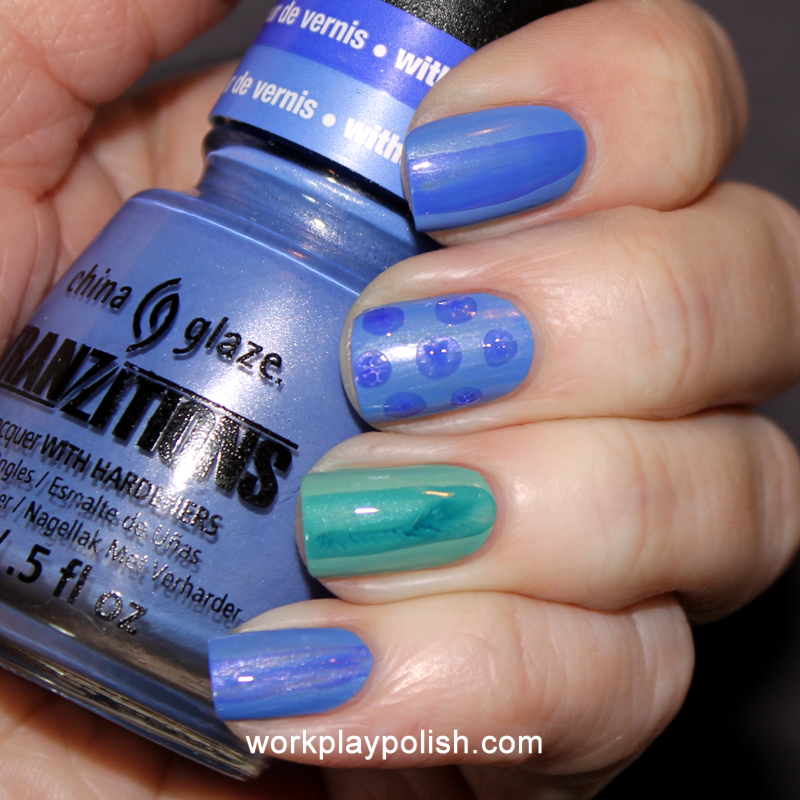 China Glaze Tranzitions: Modify Me and Duplicityy (work / play / polish)