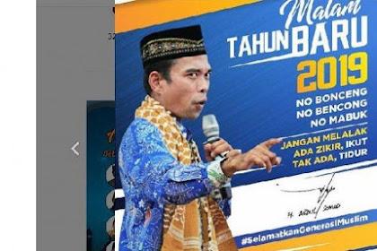 Postingan Ustadz Abdul Somad Soal Tahun Baru DIHAPUS Facebook, Dianggap Melanggar Standar Komunitas