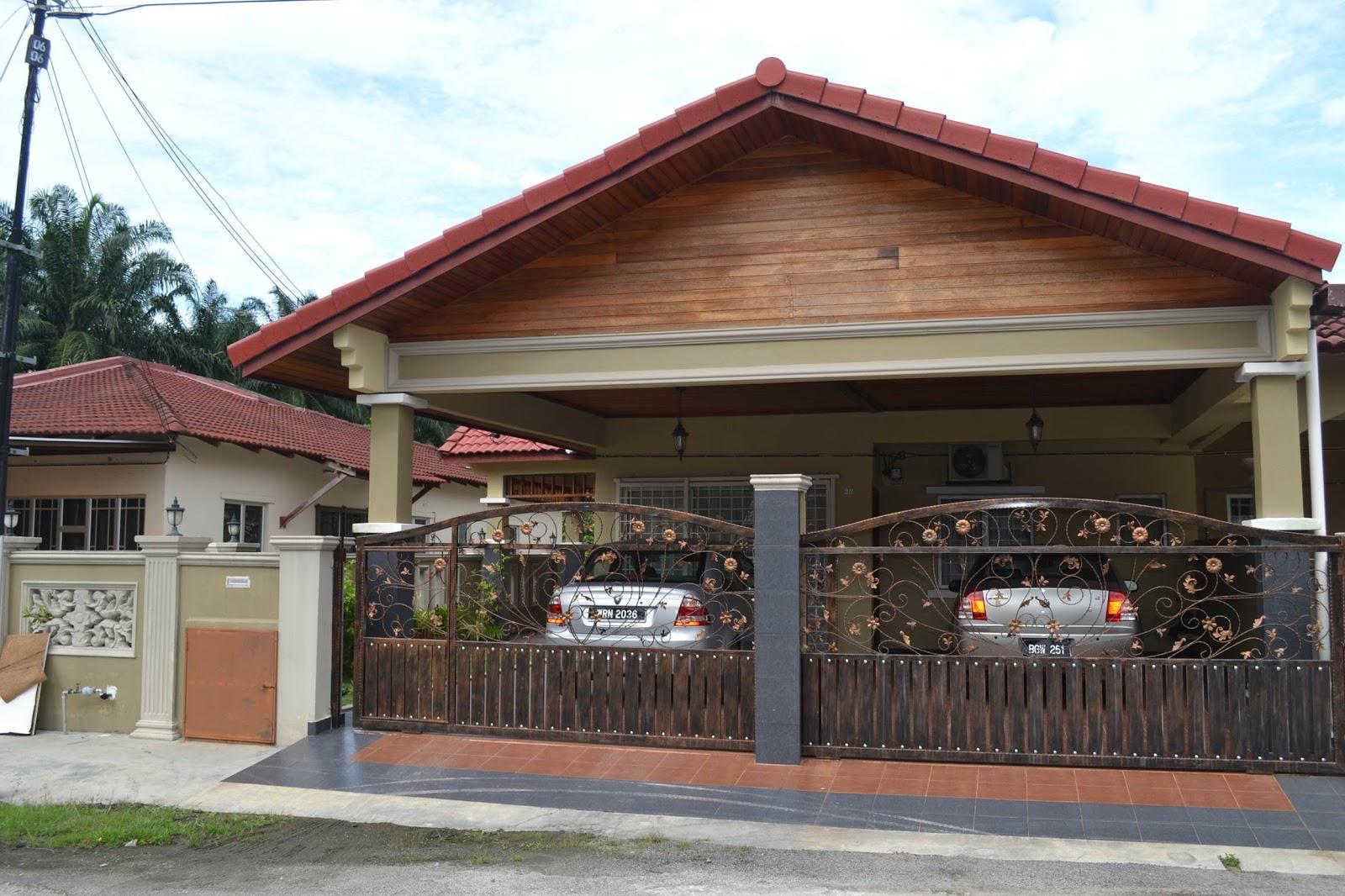 89+ Design Rumah Bahagian Depan - PENAMBAHAN BAHAGIAN & Design Depan Rumah Banglo \u0026 Design Rumah Banglo English Style