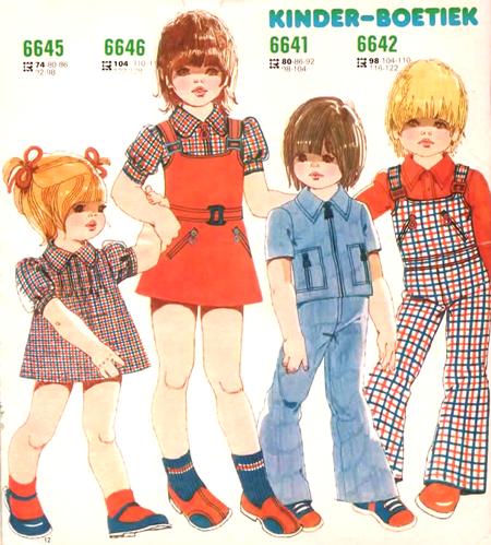 Moda Infantil Dos Anos 70 Nostalgiarama