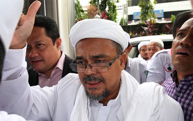 Habib Rizieq Ceramah Saat Halal Bihalal DPD FPI Jakarta