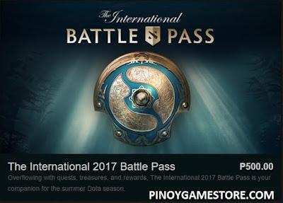 TI7 Battle Pass Dota2 Pinoy Game Store Online Gaming