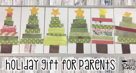 Holiday Gift for Parents - First Grade Roars!