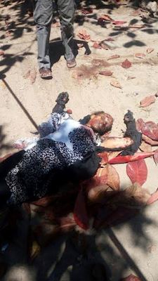 Graphic Photos Three Female Terrorists Killed In Foiled