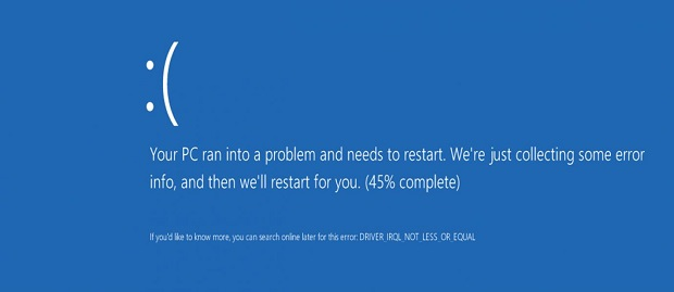 Cara Mengatasi Laptop Restart Sendiri Akibat Blue Screen of Death Windows 8 dan 10