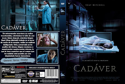 CARATULA CADÁVER - CADAVER - THE POSSESSION OF HANNAH GRACE - 2018 [COVER DVD]