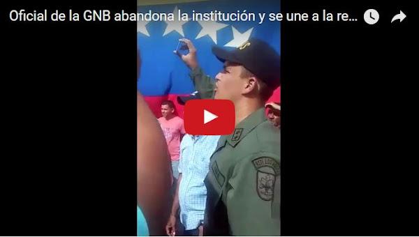 Detenido el GNB que se pronunció contra el régimen en Táchira