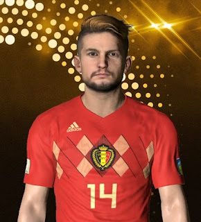 PES 2018 Faces Dries Mertens by Ben Hossam FaceMaker
