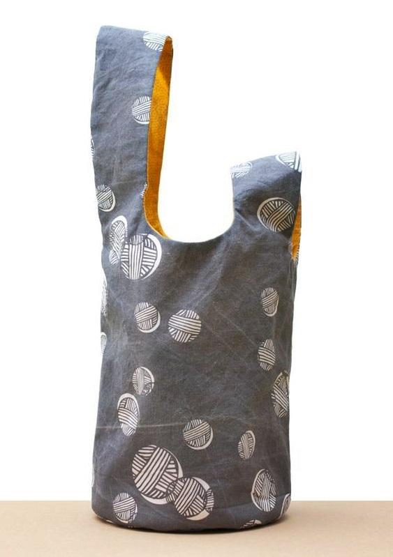 wzor japonskiej torebki