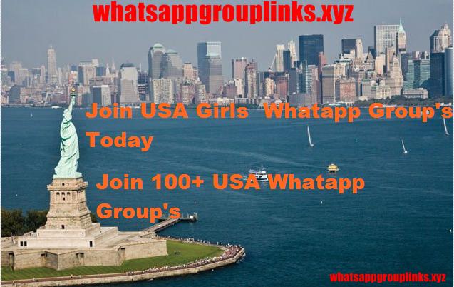 USA WhatsApp Group Link List