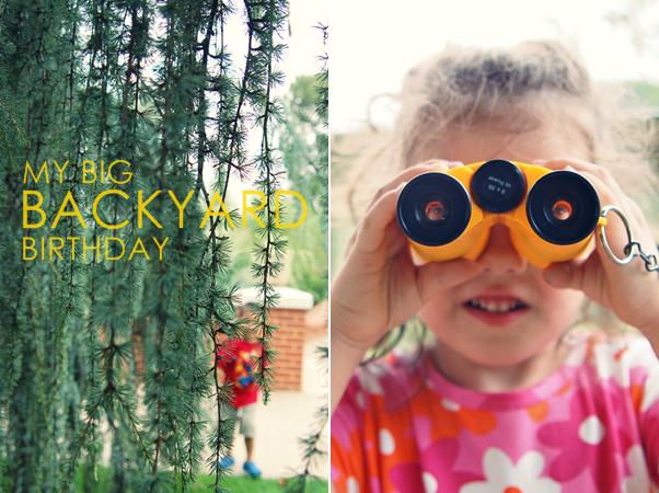 My Big Backyard Birthday - norococo