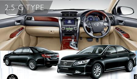 Toyota New Camry Tipe G 2500cc