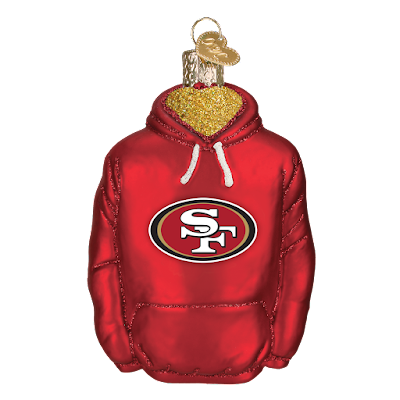 http://www.trendyornaments.com/san-francisco-49ers-hoodie-72803-old-world-christmas-ornament.html