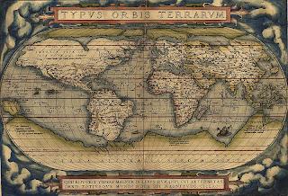 Mapa Ortelius