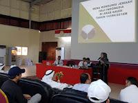148 Perusahaan Katering Ikuti Aanwijzing di Kantor Urusan Haji di Jeddah