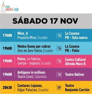 Arts Festival Saturday November 17th Loja Ecuador