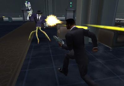 Agent J Men in Black II Alien Escape Nintendo GameCube Will Smith