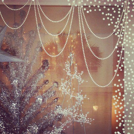 оформление витрин к новому году