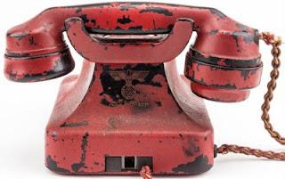 Adolf Hitler, World War II, Führerbunker, Telephone, Foreign,