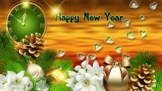 new year 2016 wallpapers with flowers