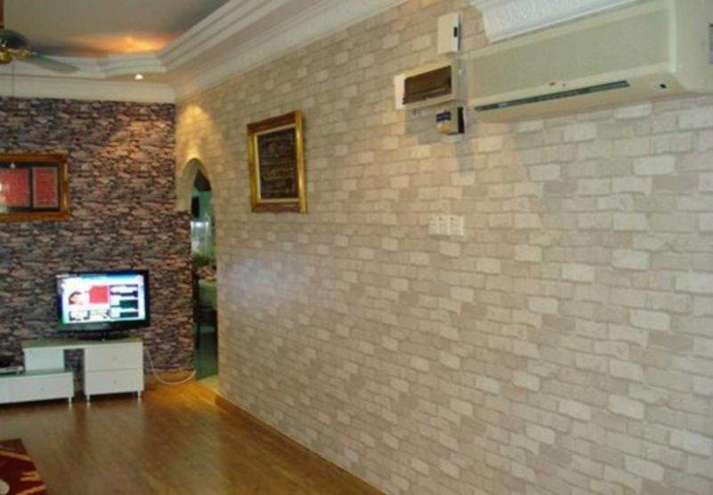 motif keramik dinding ruang tamu menarik