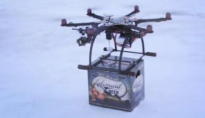 Consegnare pasti caldi più velocemente con i droni