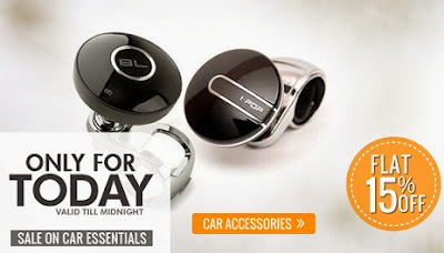Flat 15% Extra Off on Car Accessories & Car Electronics at HomeShop18