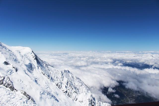 Vue depuis l'Aiguille du Midi - Chamonix