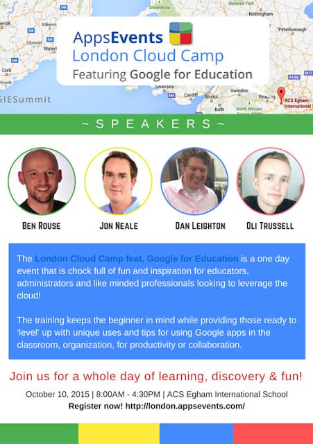 ACS Egham International School to Host 1st Google Cloud Camp