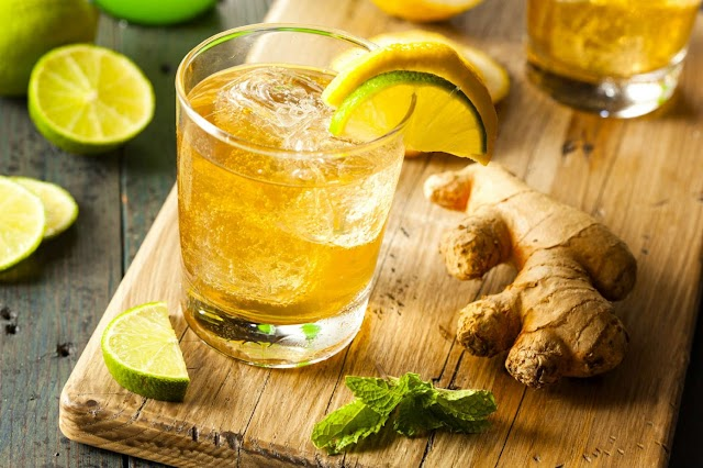 Cut Back on Calories and Sugar with This Healthy Ginger Drink