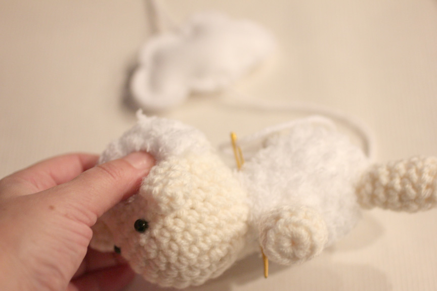 Amigurumi Sheep Baby Mobile : Crochet lamb pattern and baby mobile repeat crafter me