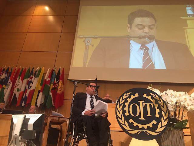 Triaca participó de la 106° Conferencia Internacional del Trabajo