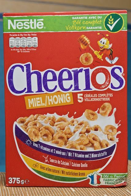 Cheerios Nestlé - Miel -Avoine - Céréales petit-déjeuner - breakfast cereals
