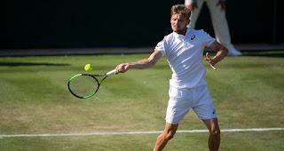 David Goffin Wimbledon first round press conference