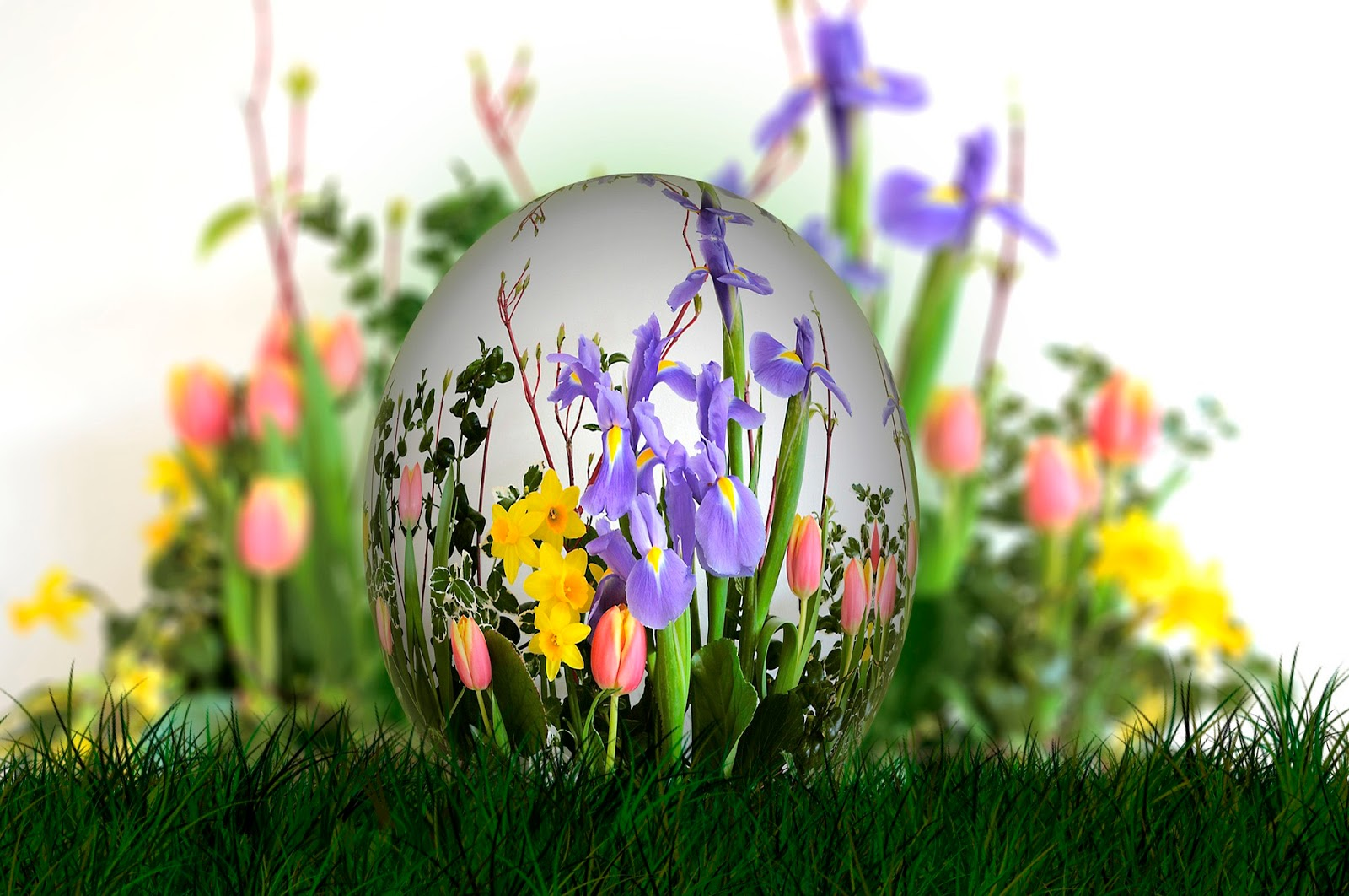 Easter traditions in the UK and Europe, including religious celebrations and national activities