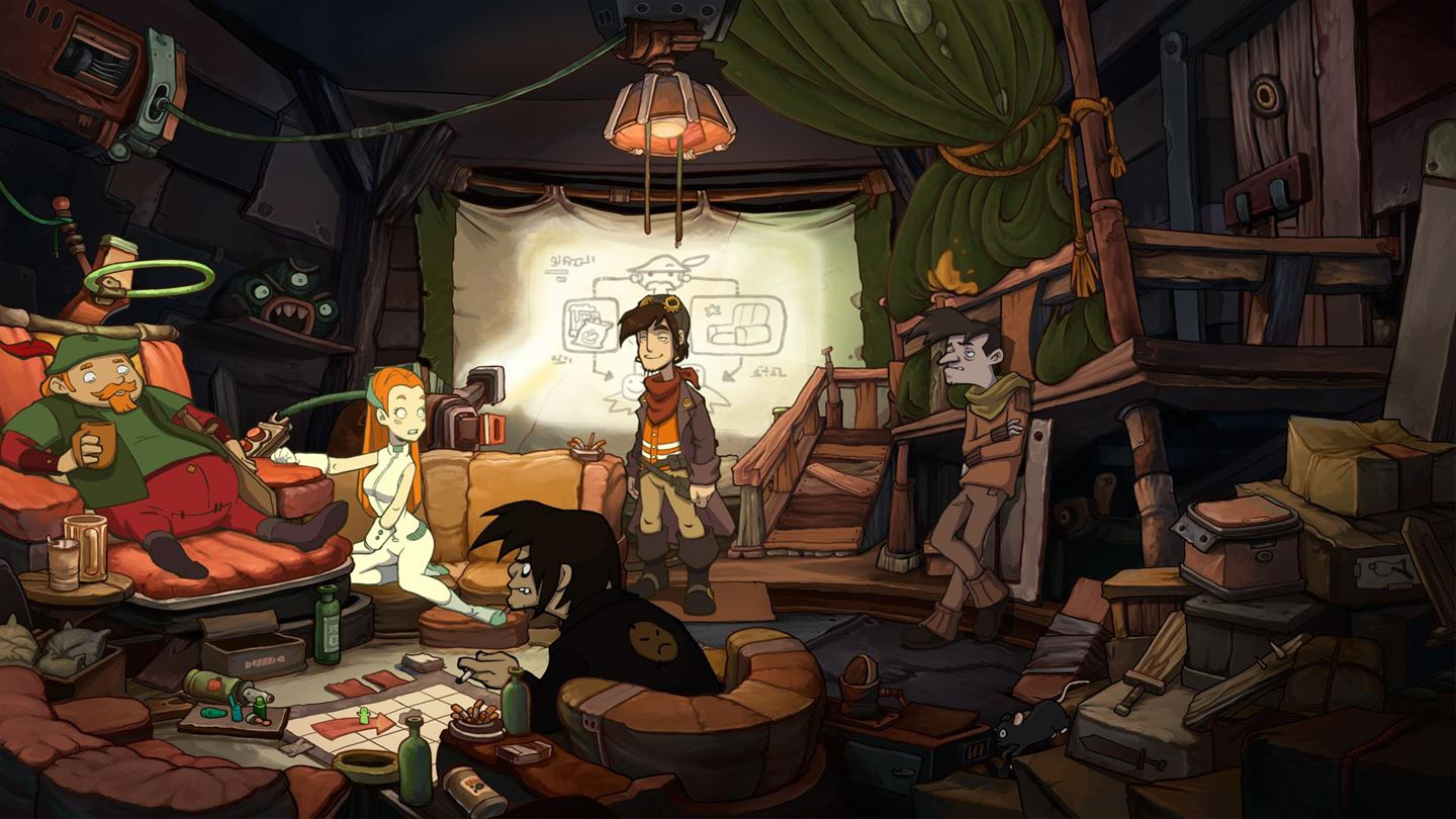 Chaos on Deponia (Xbox)