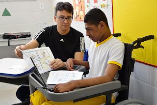 Governo de Sergipe aumenta número de matrícula de alunos com deficiência