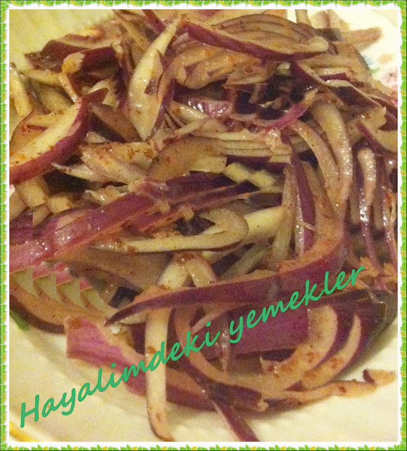 Sogan Salatasi Tarifi,degisik resimli salata tarifleri