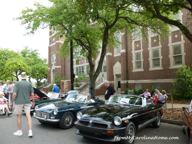 Shelby Car Show - From My Carolina Home