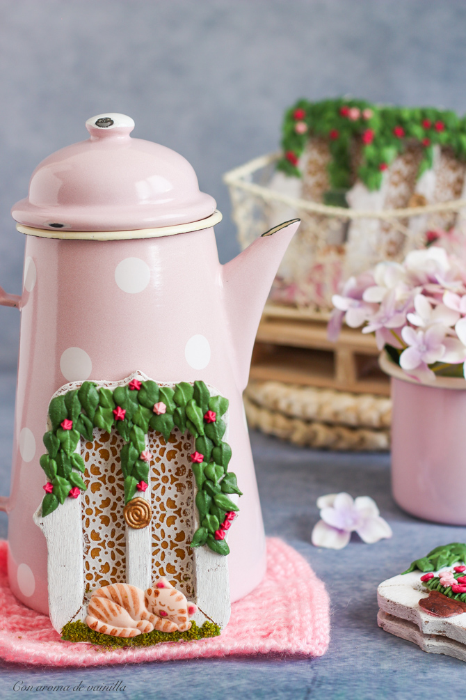 Galletas decoradas de dulce de leche. Tutorial galletas ventana.